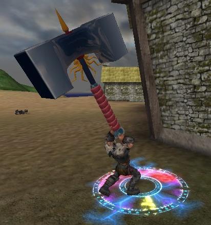 Big honkin' hammer