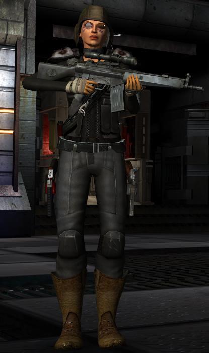Now I have an assault rifle too. Ho Ho Ho!