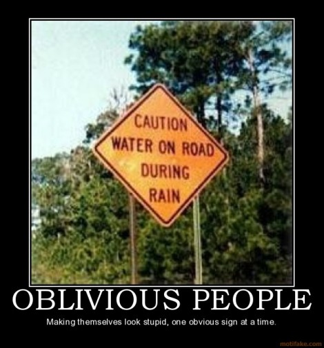 oblivious-people