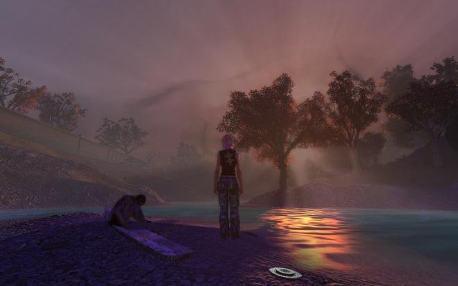 Sunset on the Savage Coast