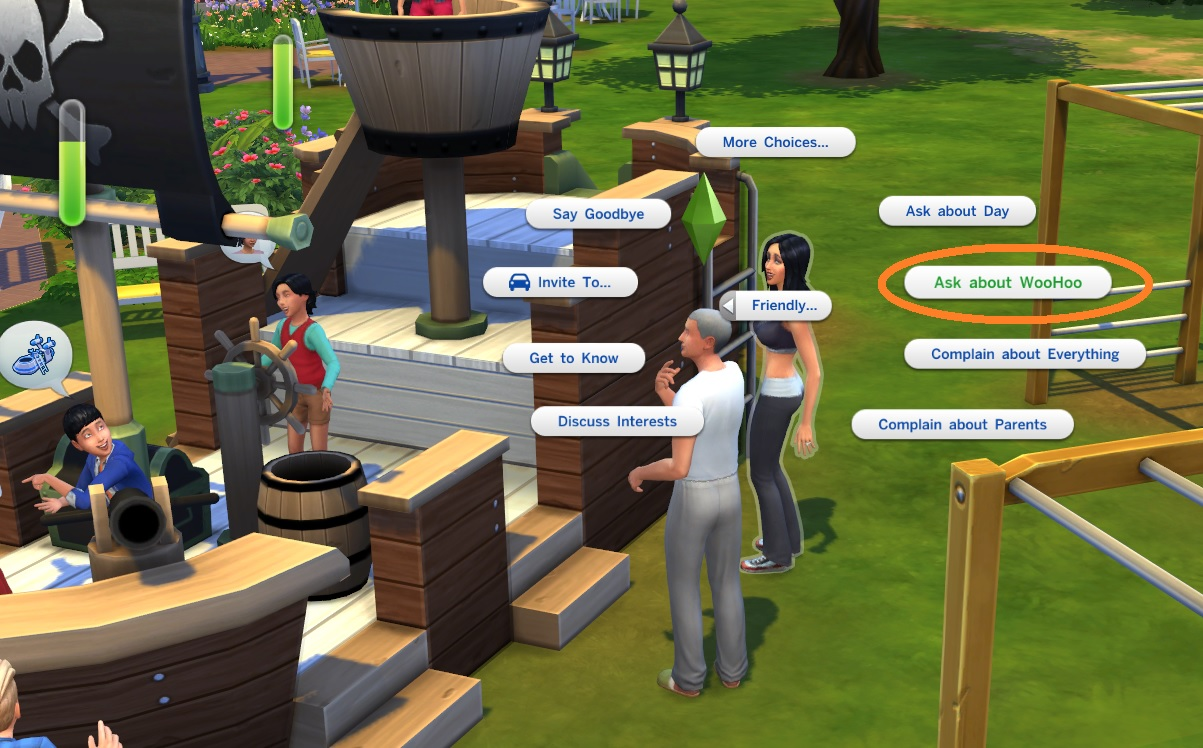 how to ask to be girlfriend sims 4