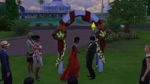 Holdem and Elise wedding