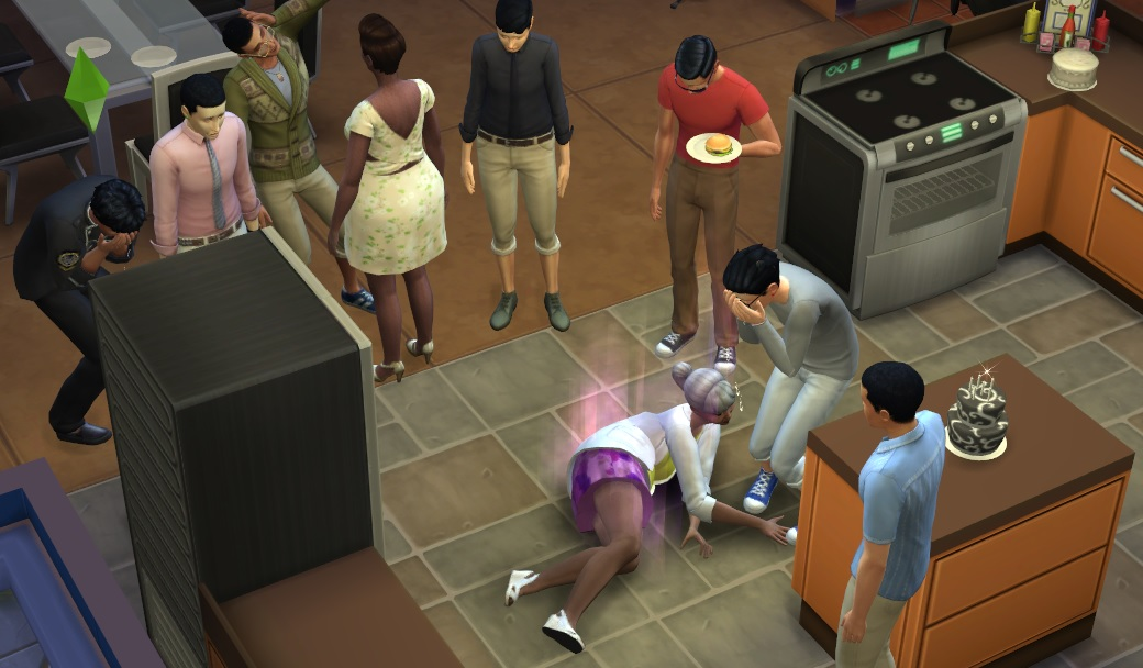 Sims  How To Get Black And White Cake