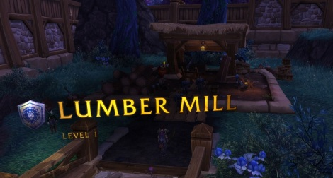 My very own lumber mill, which I'm not sure what it's good for yet