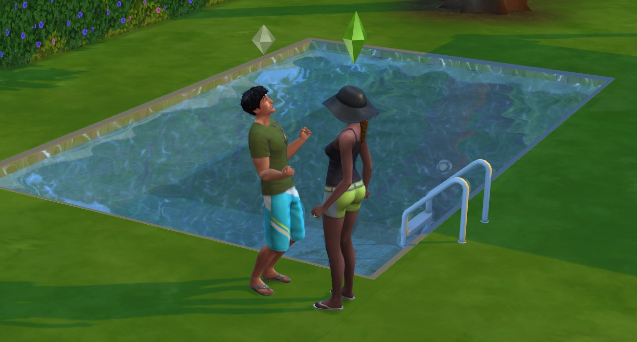 how to buy a swimming pool in sims 4