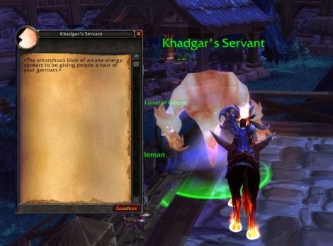 Khadgars servant